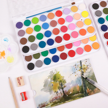 36 Colors Professional Watercolors Paints Set for Painting Drawing With Free Brushes and Papers