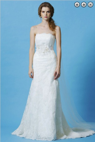 H Free Shipping Fashion 2016 Bridal Brides White Long Dress Plus Size Sweetheart  Fish Tail Wedding Dresses With Removable Belt