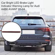 8E 9 945 097 8E9945097 Red Dritte 3rd Bremse Stop Licht Auto Helle LED Bremslicht Anzeige Warnung Lampe für audi A4B6 AVANT 01 04