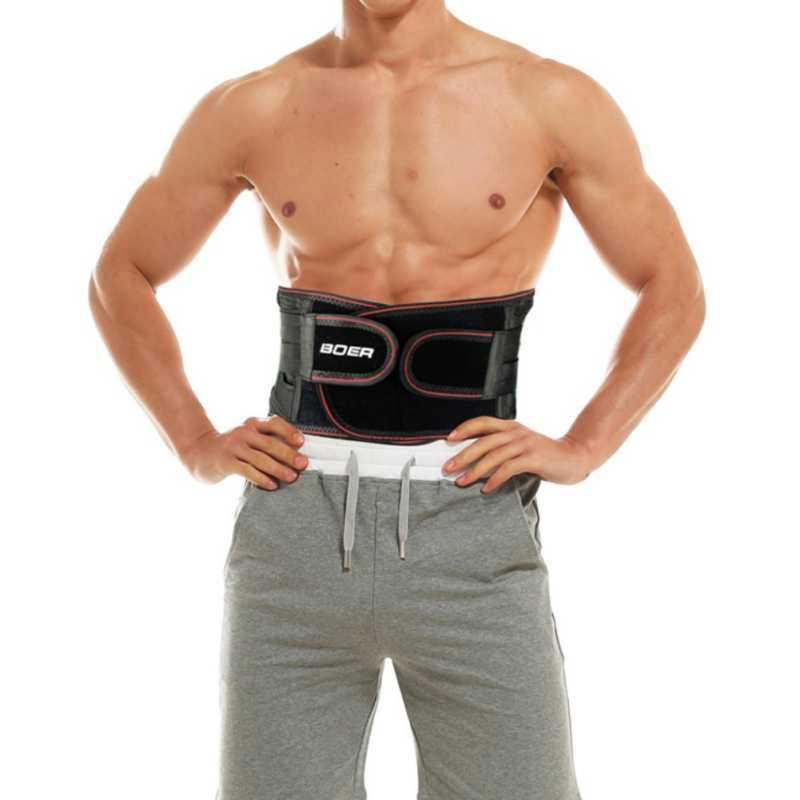 Kadın erkek bel desteği lomber korse kemer elastik nefes ayarlanabilir ağrı kesici bel kuşağı