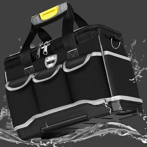 Image 5 - Sac à outils multifonction grande capacité épaissir les outils de réparation professionnelle sac 13/16/ 18/20 sac à outils
