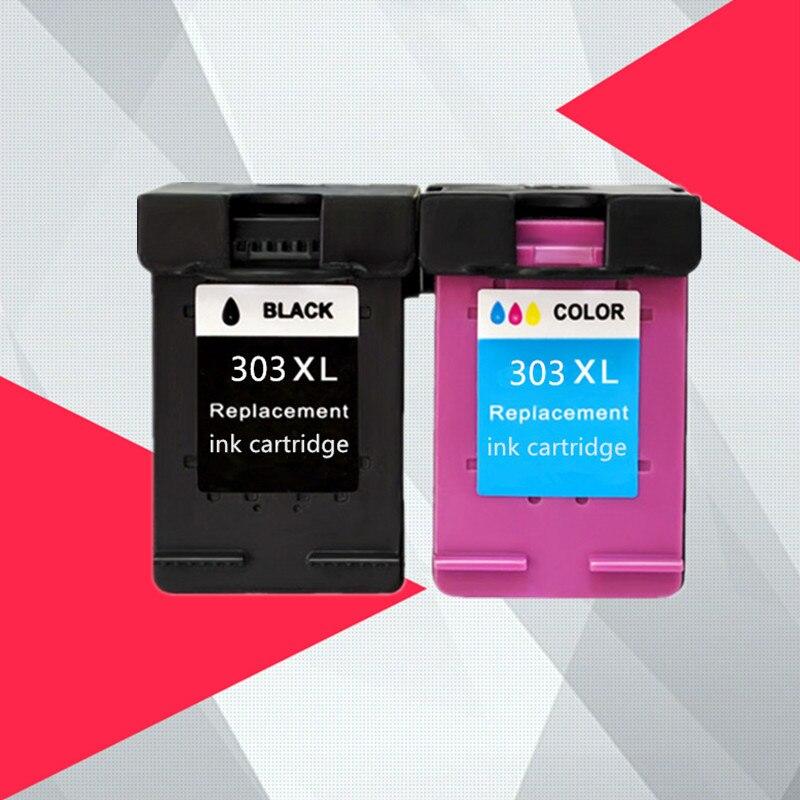 עבור HP303 עבור HP 303 303XL דיו מחסנית תואם עבור HP Envy 6220 6222 6230 6234 6252 6255 7120 7130 7132 7155 מדפסות