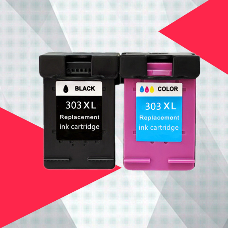 For HP303 For HP 303 303XL Ink Cartridge Compatible For HP Envy 6220 6222 6230 6234 6252 6255 7120 7130 7132 7155 Printers