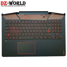 Backlit-Keyboard Lenovo Legion Touchpad Palmrest Laptop Spanish Latin with Shell-Cover