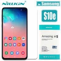 Pour Samsung Galaxy S10E S10 Lite verre protecteur d'écran Nillkin 9H sécurité verre trempé de protection pour Samsung S10E S10 LITE