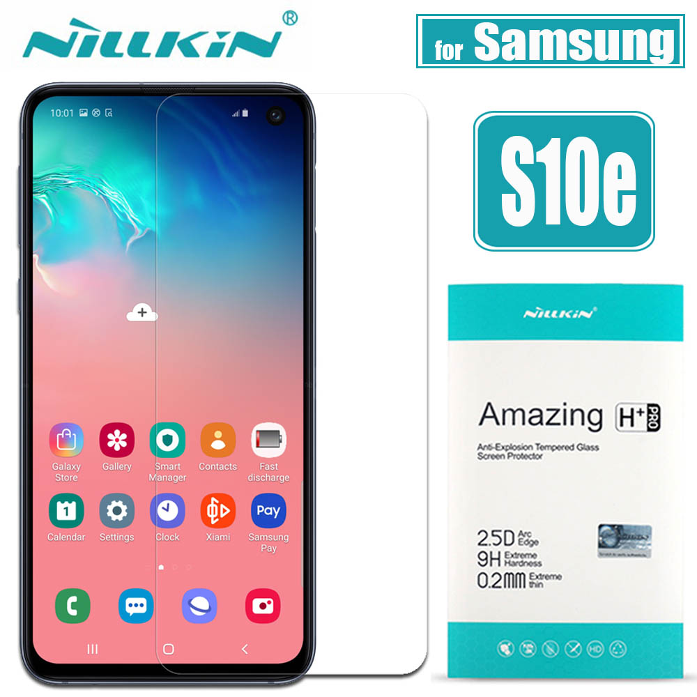 for Samsung Galaxy S10E S10 Lite Glass Screen Protector Nillkin 9H Safety Protective Tempered Glass for Samsung S10E S10 LITE|Phone Screen Protectors| |  - title=