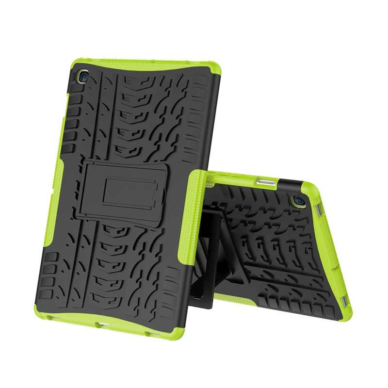 Untuk Samsung Galaxy Tab S5e T720 Case 10.5 Inci SM-T720 T725 Armor Case Tablet Silikon TPU + Pc shockproof Stand Cover + Pen + Film