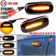 2X LED Dynamische Seite Marker Blinker Anzeige Lampen 8n 0 949 127a Für Audi A3 S3 8L 00 03 A8 D2 99 02 TT 8N 00 06