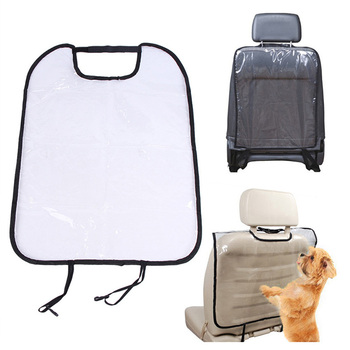 Durable Dog Car Seat Back Protector Cover for Pet Dog Cat Kids Baby Anti Mud Dirt Auto Seat Cover Cushion Kick Mat Pad image