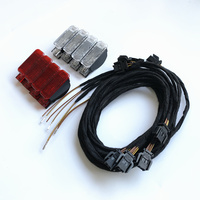 Rojo/blanco Panel de puerta alerta luz lámpara 8KD947411 6Y0947411 para Audi A3 A4 B8 A5 A6 A7 A8 Q3 Q5 TT RS 8KD 947 415 8KD947415C