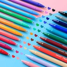 24 farbe/lot Gel stifte Monami plus stift Koreanische Briefpapier Canetas papelaria Zakka geschenk Büro material escolar schule liefert