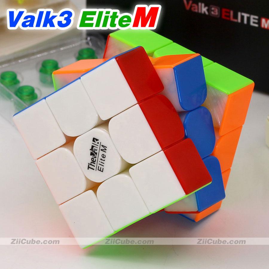 Magic Cube Puzzle QiYi The Valk Magnetic 3x3x3 Cube Valk3 Elite M Magnet Professional Speed Cube Twist Wisdom Toys Game