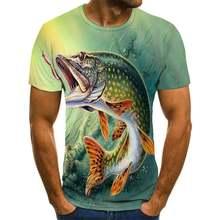 Летняя новая повседневная мужская и женская футболка с 3d принтом