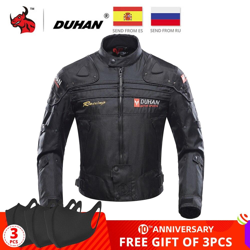 1929.18грн. 47% СКИДКА|Мотоциклетная куртка DUHAN, ветрозащитная мотоциклетная куртка для езды на мотоцикле, защитное покрытие для всего тела, бронированная одежда на осень и зиму|gears armor|motorcycle full body|protective gear - AliExpress