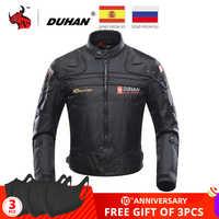 Giacca Moto DUHAN Moto Giacca di Guida Antivento Del Motociclo Completo Body Equipaggiamento Protettivo Armatura Autunno Inverno Abbigliamento Moto