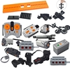 Motor multi power functions tool M L servo train motor Model building blocks Compatible All Brands 1
