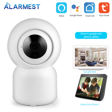 Alarmest Tuya WiFi Security IP camera 1080P CCTV surveillance camera IR Night Vision Power by Tuya