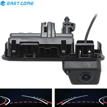 Reverse 1080P Trajectory Tracks Car Rear View Camera Trunk handle For Audi Q2 Q3 Q5 A5 A6 VW Passat Bora Skoda karoq Kodiaq