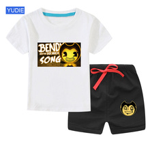 Baby Children Clothing Set T-Shirt Short  Cotton Sports suit Summer Tracksuit Casual Outfits Boy Clothes Set kids clothing kids baby boy car shirt jeans summer clothing set short sleeve cotton suit children clothing boys outfit