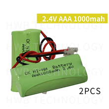 2 шт./лот KX Оригинальный Новый Ni-MH AAA 2,4 V 800mAh Ni-MH аккумулятор с вилками для беспроводного телефона Бесплатная доставка