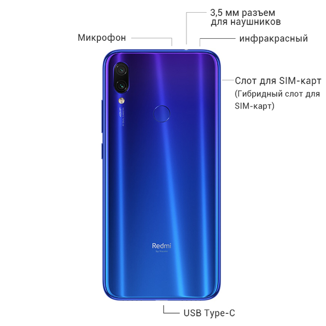 Smartphone Xiaomi Redmi Note 7 3
