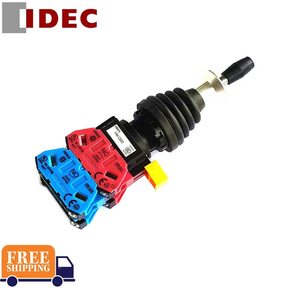 2 pièces IDEC interrupteur HW-CB22 HW1M-L2222-22N9 interrupteur à bascule croisé