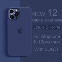 Чехол с логотипом для iphone xs max xr 8 7 6s 10 plus, чехол для телефона iphone 11 pro max se 12 pro max, силиконовый чехол 2020