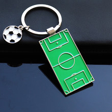 Football Soccer Fans Gift Decoration Soccer Keyring Holder Sports Souvenir Gift Ornament Key Ring Soccer Ball Fan Club Gift(China)