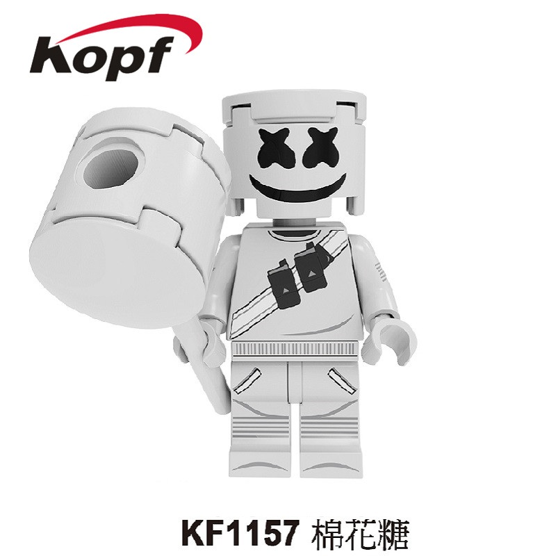 Single Sale Super Heroes AIM Agent Pennywise Costume Adult Scary Clown It Building Blocks Children Toys KF1157