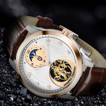 PAGANI 2019 New Mens Watches Top Brand Luxury Watch Automatic Mechanical Tourbillon Men Relogio Masculino