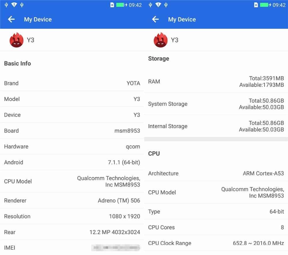 """オリジナルヨタ 3 Yota3 yotaphone 3 4 グラム + 64 グラム OS7.1 デュアルスクリーン 5.5 """"fhd 画面 5.2"""" タッチ snapdragon スマート電話オクタコア再生"""