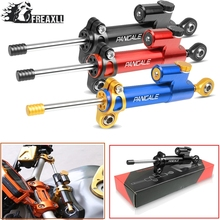Moto CNC Motorcycle Steering Damper Stabilizer Linear Reversed Safety Control Over For DUCATI 899 959 1199 1299 Panigale
