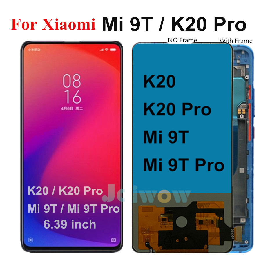 For Xiaomi Redmi K20 LCD K20 Pro / Mi 9T / Mi9T Pro Global LCD Display Touch Screen Digitizer For Xiaomi Mi 9t For Redmi K20 Pro
