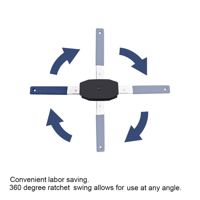NS modifique la pinza del pistón del freno del trinquete del coche de 270mm herramienta del Esparcidor de la prensa de la pinza del freno Single Twin Quad Pistons instale las herramientas