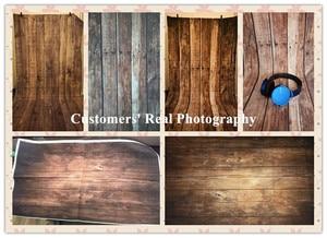 Image 4 - Laeacco drewniana płyta deski tekstury Grunge tła do fotografii portretowej zdjęcie tła dla dziecka Pet Doll Photophone rekwizyty