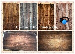 Image 4 - Laeacco עץ לוח קרשי מרקם גראנג דיוקן צילום תפאורות תמונה רקע עבור תינוק לחיות מחמד בובת Photophone אבזרי