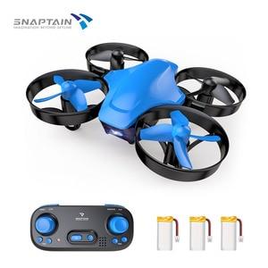 SNAPTAIN SP350 Mini DronePortable círculo volador 3D voltear ajuste de velocidad altura mantener dron regalos juguetes para adultos niños principiantes