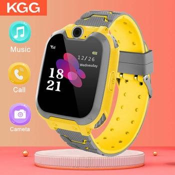 Kids Smart Watch Music Game Smartwatch Waterproof Children SOS Baby Play Boys Girls - discount item  10% OFF Smart Electronics
