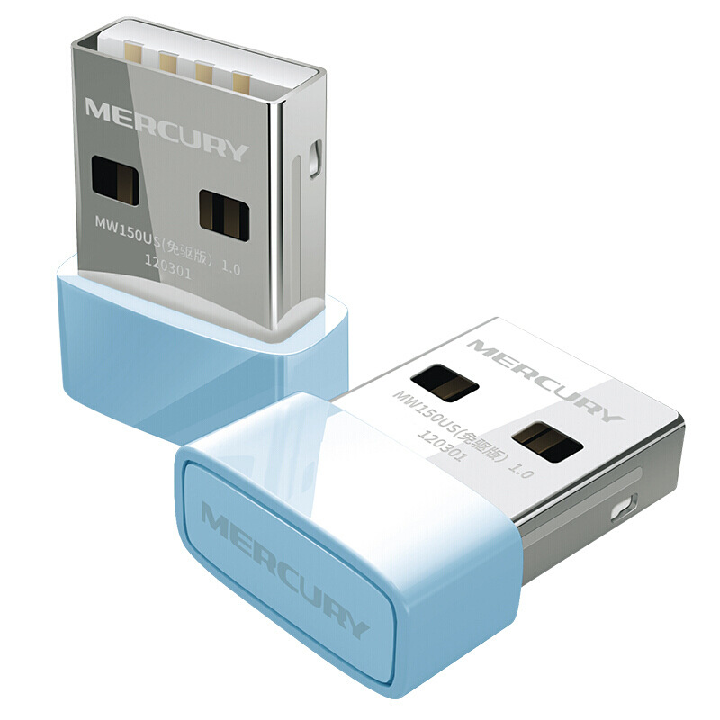 Mercury Mw150us Free Drive Version 150m Mini Desktop Laptop USB Wireless Network Adapter Wi-Fi Receiver