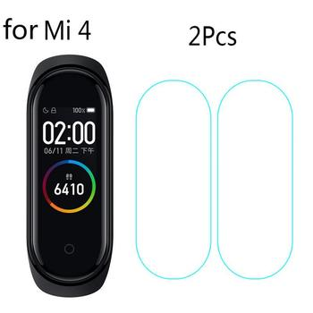 3pcs Screen Protector For Xiaomi Mi Band 2/3/4 Tempered Hydrogel Film Smart Watch For Miband 2/3/4 Full Soft Glass image