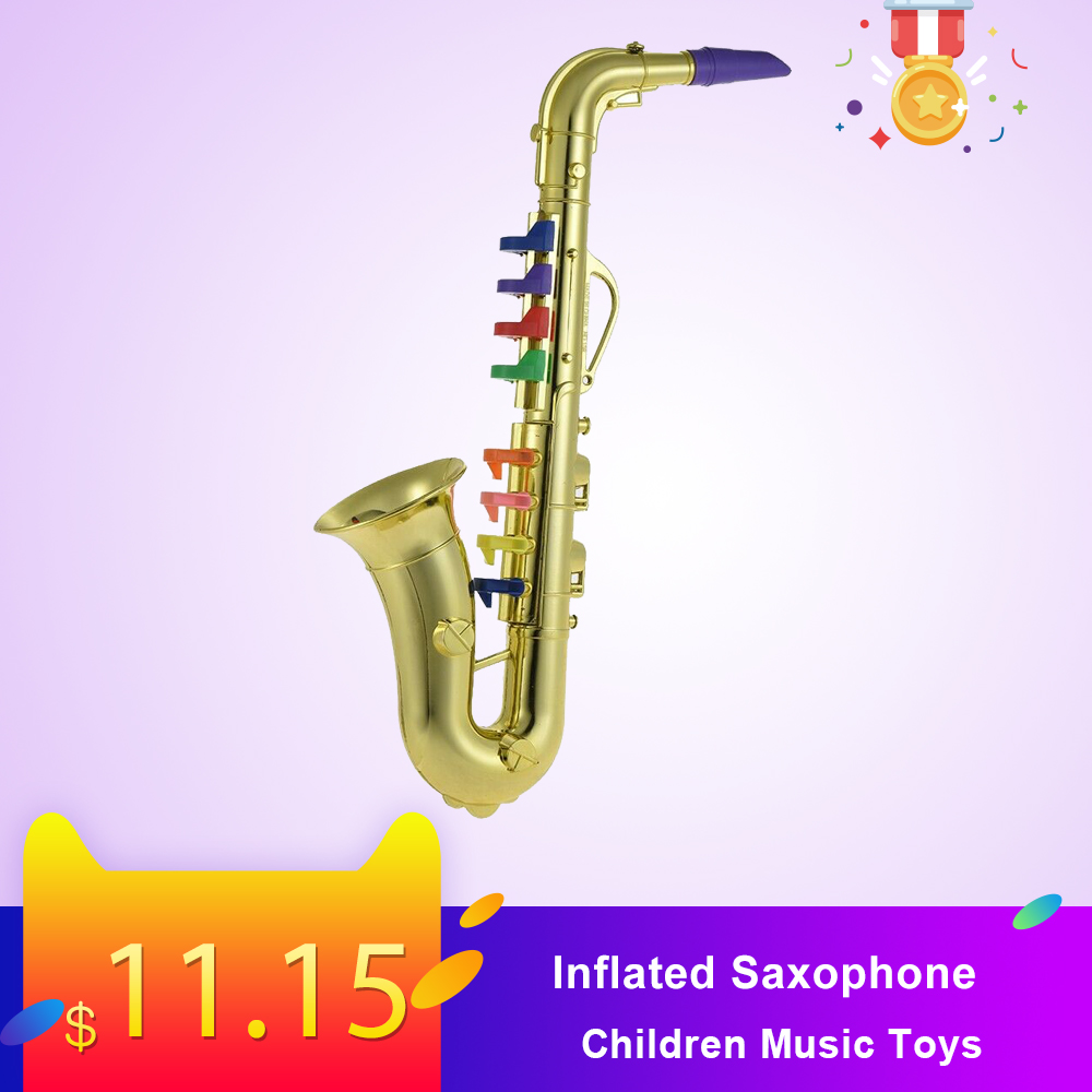 Inflatable Musical Instruments Inflated Guitar Saxophone Children Music Dream Kids Birthday Goft Home Party Decor Hot Toy