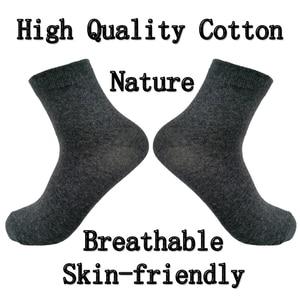Image 2 - Men Socks Cotton Comfortable 5 Pairs/Set Boys Breathable Antibacterial Dropshipping