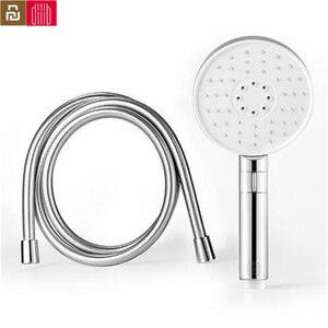Image 1 - Youpin dabai Diiib 3 מצבי כף יד מקלחת ראש סט 360 תואר 120mm 53 מים חור עם PVC מאטל חזק עיסוי מקלחת