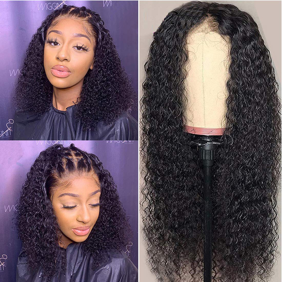 13*4 Lace Front Wig Curly  Wig   Hair Jerry Curl Wig 180 Density Lace Front  Wigs 2