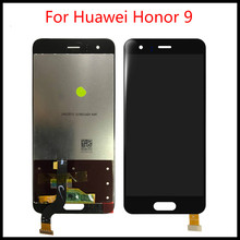 High Quality  5.15 For Huawei Honor 9 LCD Display + Touch Screen Digitizer Assembly Replacement 100% Tested high quality lcd display for prestigio muze a7 psp 7530 duo psp7530duo psp7530 lcd display digitizer assembly replacement