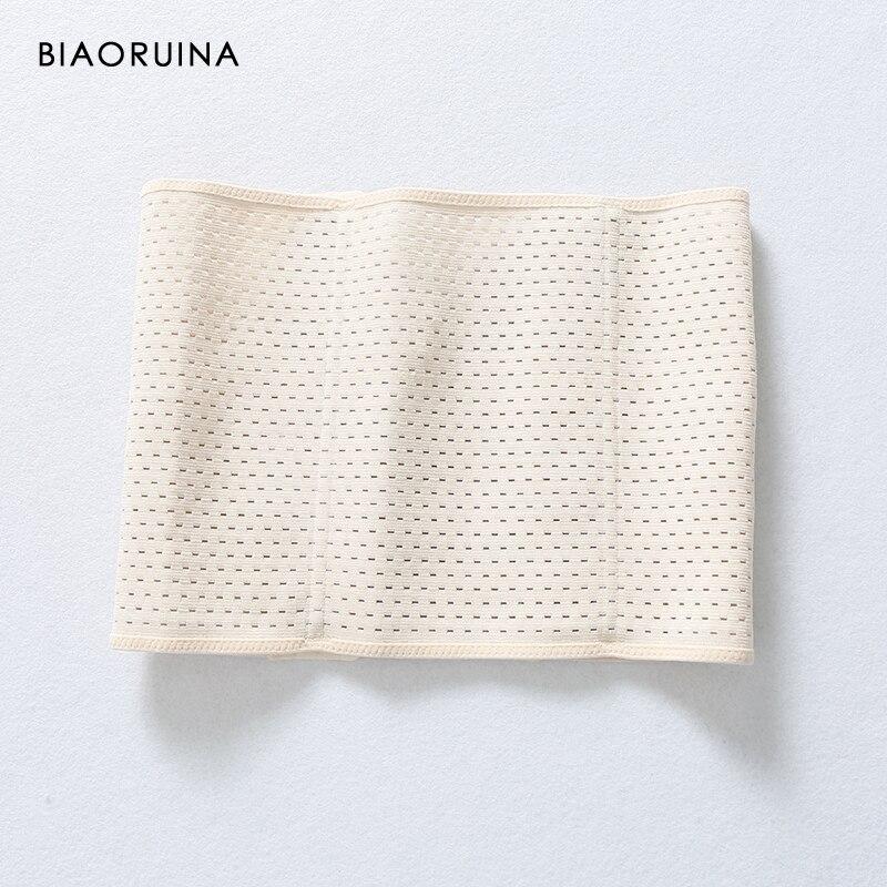 BIAORUINA Women's Vintage Adjustable Buckles Cummerbunds Body Slim Waist Shaper Corset Fashion Elastic Belt Stretching Waistband
