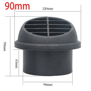 Image 5 - الاتجاه للتدوير 42 مللي متر 60 مللي متر 75 مللي متر 90 مللي متر الديزل سخان وقوف السيارات سخان الهواء الدافئ منفذ الهواء تنفيس