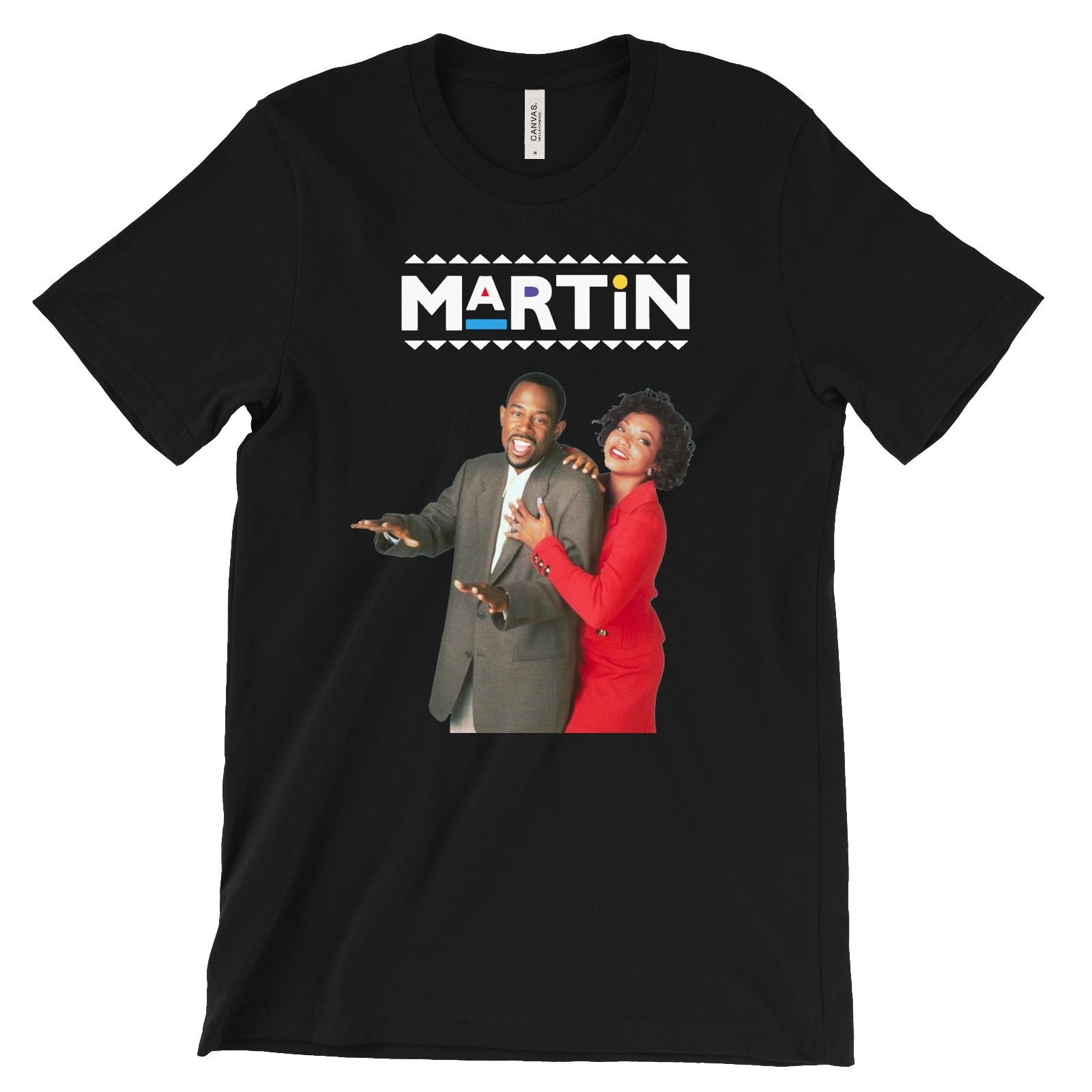 Martin Lawrence And Gina T-Shirt 90'S Sitcom Tv Television Show Series