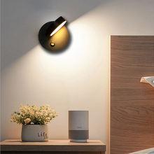 Светодиодная настенная лампа вращаюсветодиодный на 360 °