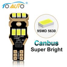 1Pcs T15 W16W Led-lampe 921 912 Super Helle Canbus Fehlerlose Auto Lampe 9SMD 5630 Chips Auto Backup reserve Lichter Birne Weiß DC
